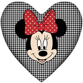 Подушка серце Мінні Маус