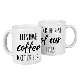Парні гуртки Let's have coffee together for...