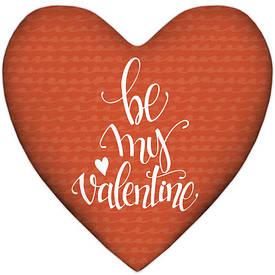 Подушка сердце Be my Valentine