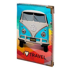 Обложка для водительских прав I love travel