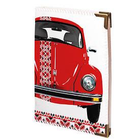 Обложка для водительских прав Красный VW