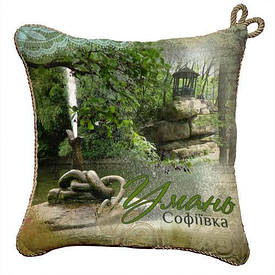 Подушка сувенир 40х40 см