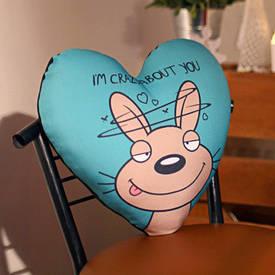 Подушка сердце XXL I'm crazy about you