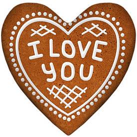 Подушка сердце XXL I love you
