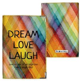 Обложка на паспорт Dream love laugh