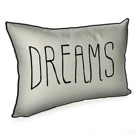 Подушка для інтер'єру 45х32 см Dreams