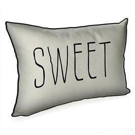 Подушка для інтер'єру 45х32 см Sweet