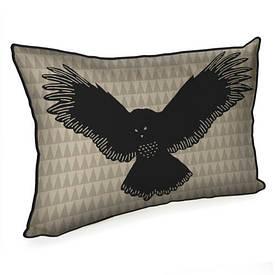 Подушка для интерьера 45х32 см Сова