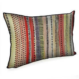 Подушка для интерьера 45х32 см Разноцветный орнамент