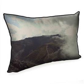 Подушка для интерьера 45х32 см Горы