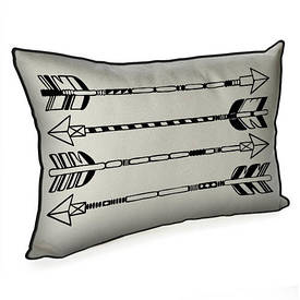 Подушка для інтер'єру 45х32 см Стріли