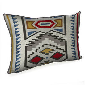 Подушка для інтер'єру 45х32 см Незвичайний орнамент