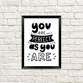 Постер в рамці A5 You are perfect