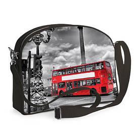Сумка молодіжна College Лондонський автобус