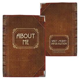 Обкладинка на паспорт About me