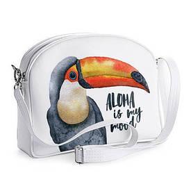 Сумка молодіжна College Aloha is my mood Тукан