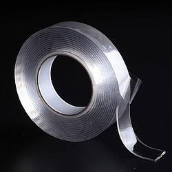 Многоразовая сверхсильная клейкая лента Ivy Grip Tape 5 м Прозрачная HbP65425, КОД: 1529531