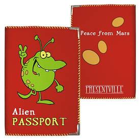 Обложка на паспорт Alien passport