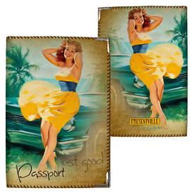 Обложка на паспорт Just good