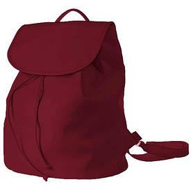 Рюкзак женский кожзам Mod MAXI, цвет бордовый