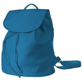 Рюкзак женский кожзам Mod MAXI, цвет голубой