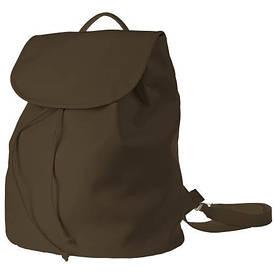 Рюкзак женский кожзам Mod MAXI, цвет мокко