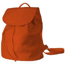 Рюкзак женский кожзам Mod MAXI, цвет морковный