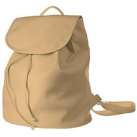 Рюкзак женский кожзам Mod MAXI, цвет ореховый