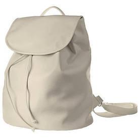 Рюкзак женский кожзам Mod MAXI, цвет слоновая кость