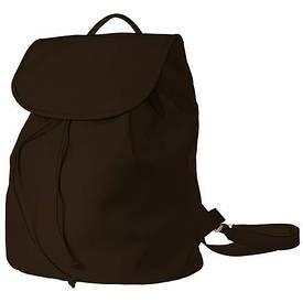 Рюкзак женский кожзам Mod MAXI, цвет темно-коричневый