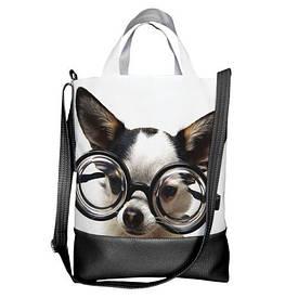 Городская сумка City Собачка в очках