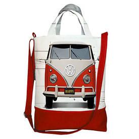 Міська сумка City Volkswagen red