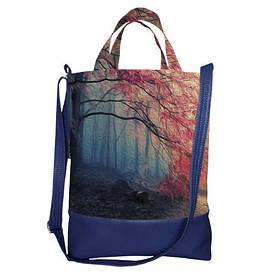 Городская сумка City Осень в лесу
