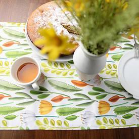 Доріжка на стіл (раннер) Квіткове настрій