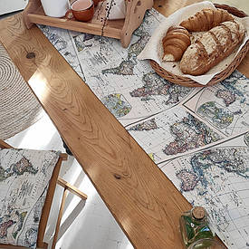 Доріжка на стіл (раннер) Карта
