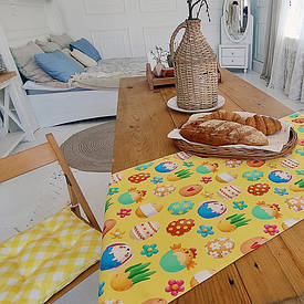 Доріжка на стіл (раннер) Великодні яйця