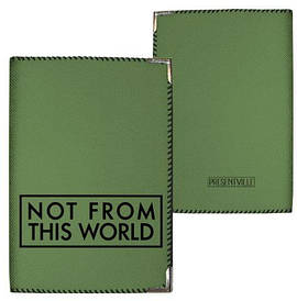 Обкладинка на паспорт Not from this world