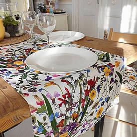 Доріжка на стіл (раннер) Польові квіти