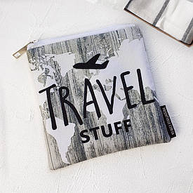 Косметичка квадратная Basic Travel stuff