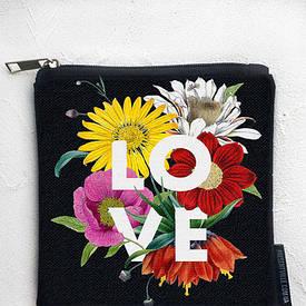 Косметичка квадратная Basic Love