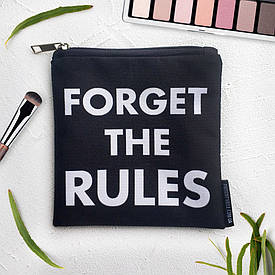 Косметичка квадратная Basic Forget the rules