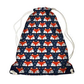 Рюкзак-мішок MINI Лисенята