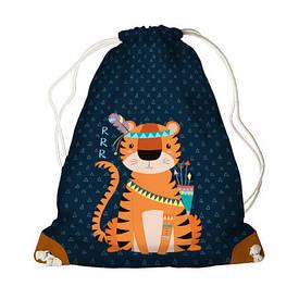 Рюкзак-мешок MINI Тигр-индеец