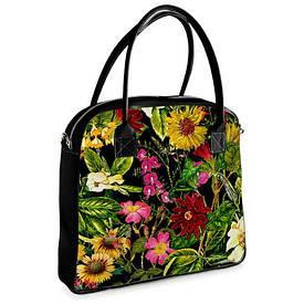 Сумка з принтом Oxford Flowers boom