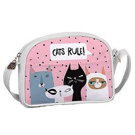 Сумка для підлітків Junior girl Коти Cats rule!