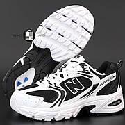 Женские кроссовки в стиле New Balance 530 | Black White