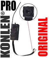 Мини камера с выносным объективом на шлейфе KONLEN S01, с записью Full HD 1080P c пультом ДУ