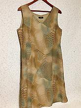 Шифонова сукня міді