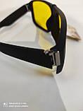 Очки солнцезащитные мужские антифары Matrix Avatar Polaroid Sport Поляризованные антибликовые очки желтые, фото 6