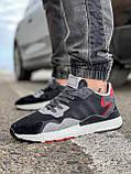 Кросівки чоловічі 17302, Adidas 3M, чорні, [ 41 42 43 44 45 46 ] р. 41-25,2 див., фото 2